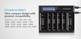 Xtar MC6 Battery Charger